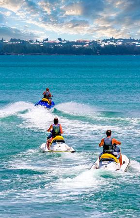 Jet Skiers in Bermuda