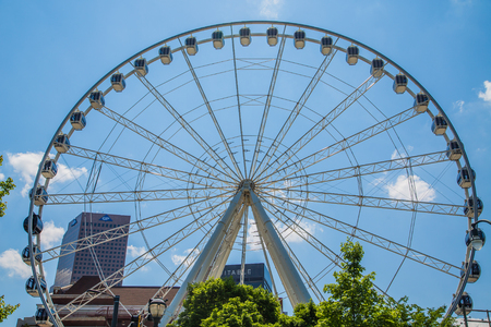 Ferris Wheel in Olympic Park Editorial