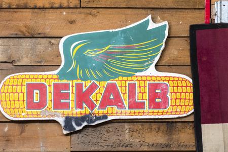 DeKalb Tire Sign