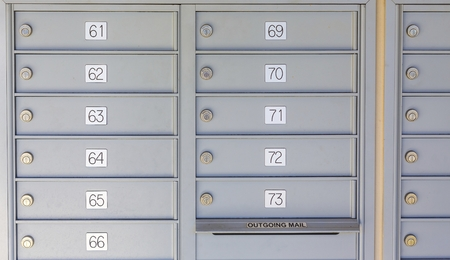 Private Mailboxes in Kiosk
