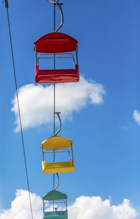 Red Yellow and Green Sky Buckets