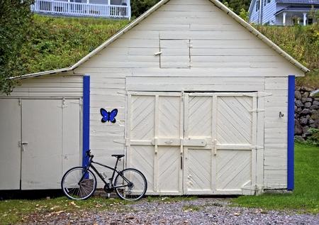 Bike Against Garage