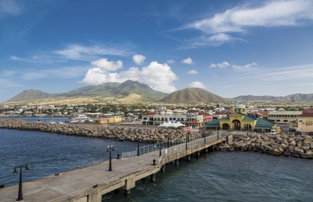 Shopping Port in St Kitts Editorial