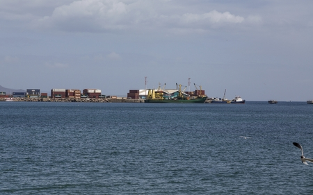 St Kitts Freight Operation