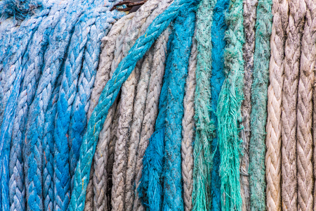 Blue and White Rope