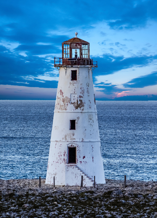 Lighthouse on Narrow Land
