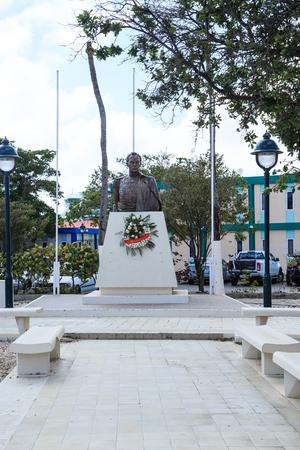 Consulate Statue Vertical