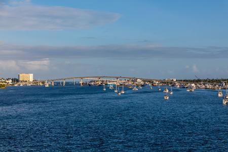 Bridge in Nassau Stock Photo