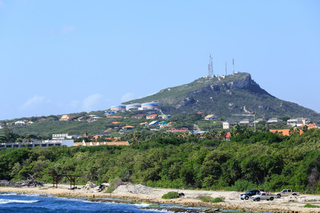 Industry on Curacao Mountain