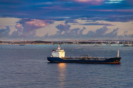 Tanker in Morning Light