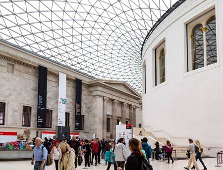 Entrance to British Museum