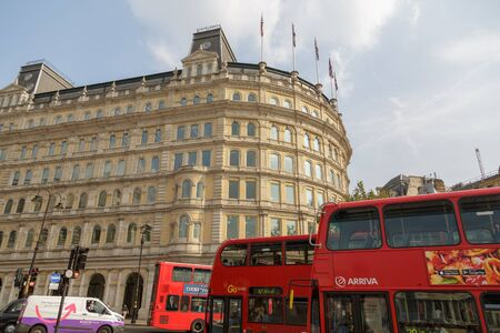 Red Double Decker Buses in London
