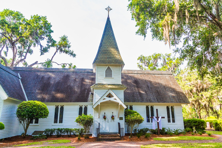Christ Church on Sunny Day Фото со стока