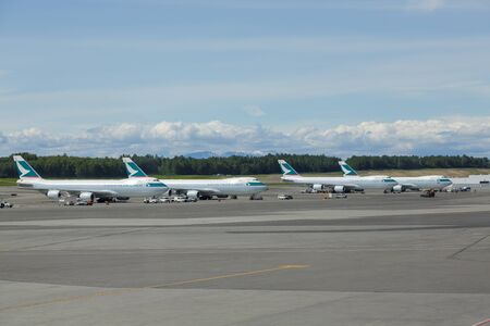 Cathay Pacific Cargo at Anchorage