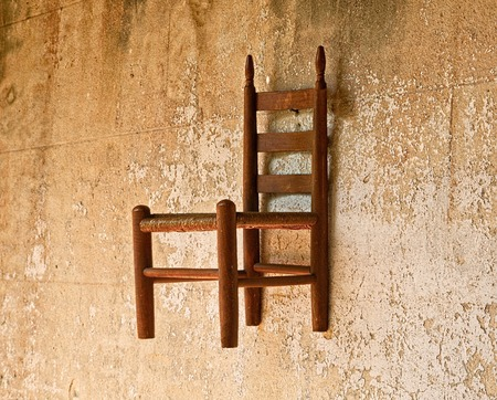 Chair on Wall