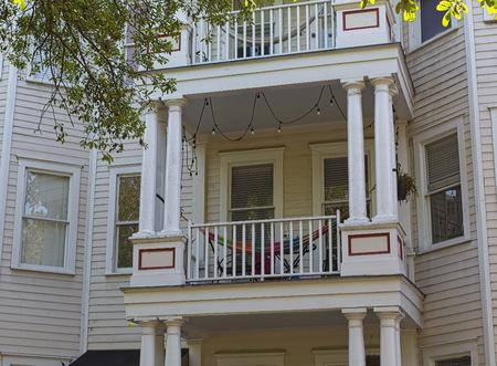 Hammock on Balcony 写真素材