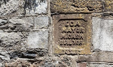 Old Block Cornerstone Reklamní fotografie