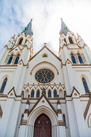 Saint Johns Church Close up Stock Photo
