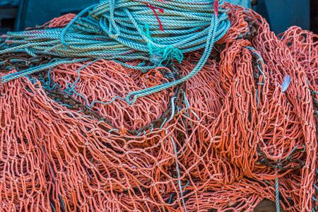 Blue Ropes and Red Nets