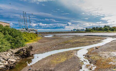 Storm Clouds Past tidal Streams