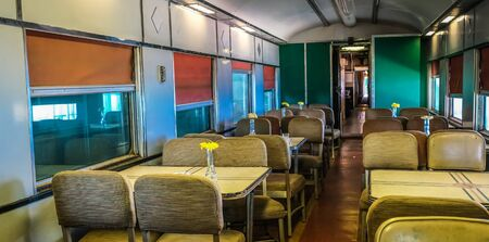 Dining Car in Old Train