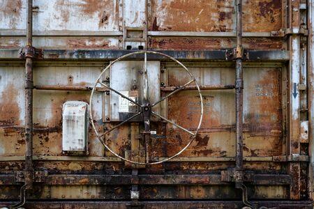Locking Wheel on Train