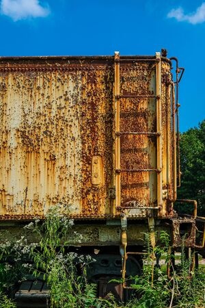 Rusty Ladder on Boxcar