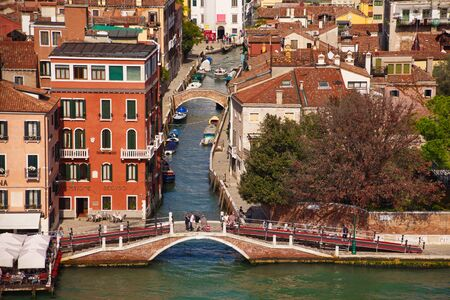 VENICE, ITALY - September 30, 2017: Silversea Cruises is a ultra-luxury cruise line headquartered in Monaco and owned by Royal Caribbean. Founded in 1994, it pioneered all-inclusive cruising.