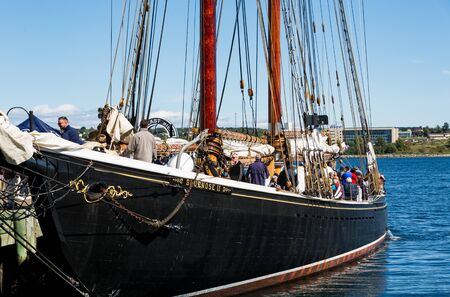 Two Masted Schooner in Halifax Editorial