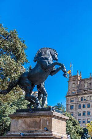 Horse Statue in Barcelona Publikacyjne