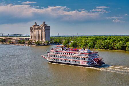 Georgia Queen Past Savannah Hotel