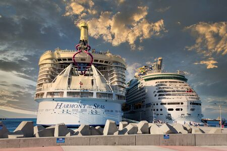 Two Royal Caribbean Ships