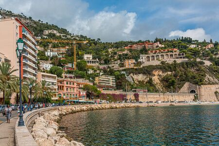 Curved Waterfront of Villefranche Publikacyjne