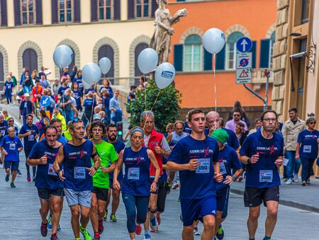 Participants in Florence Run for Life Publikacyjne