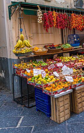 Citrus Fruit in Sorrento Market