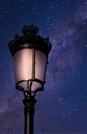 Classic Street Light on Stars
