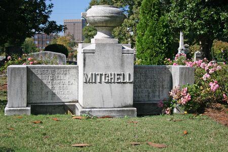 Margaret Mitchell Grave 報道画像