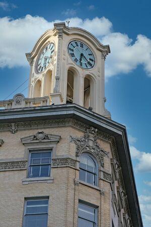 Six Twenty on Clock Tower Zdjęcie Seryjne