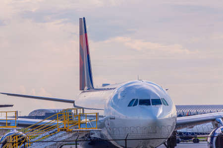 Delta Behind Fence