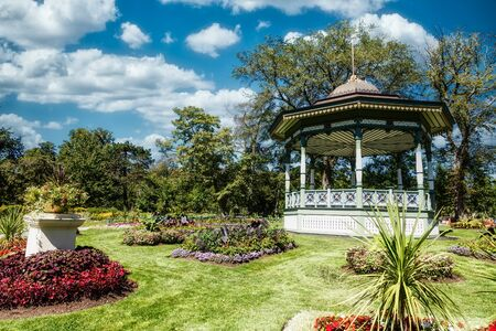 Ornate Gazebo on Garden Hill in Halifax