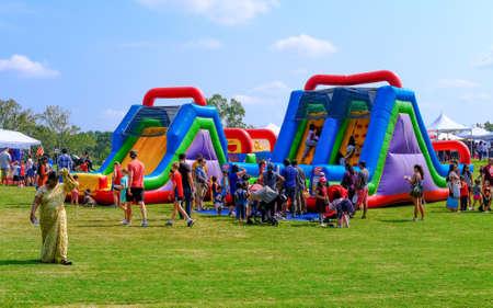 Childrens Fun Area at Fair