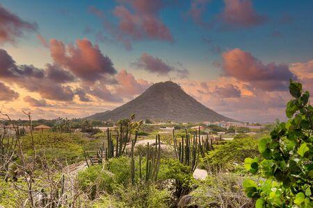 Lonely Mountain in Aruba
