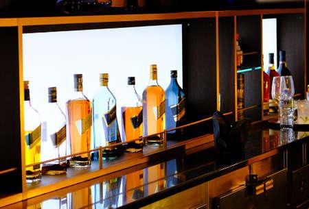 HIgh End Scotch in Bar