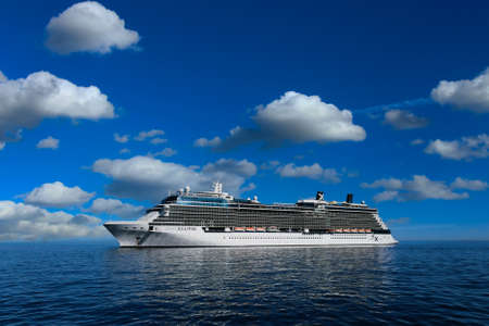 Celebrity Eclipse on Blue Water