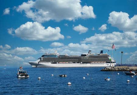 Cruise Ship at Catalina Island