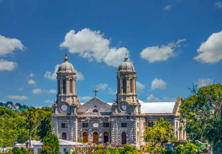 Saint Johns Cathedral in Antigua Stock Photo