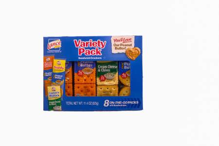 Lance Variety Pack Crackers Фото со стока