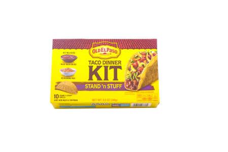Taco Dinner Kit Фото со стока