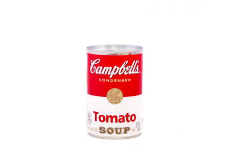 Can of Tomato Soup Imagens
