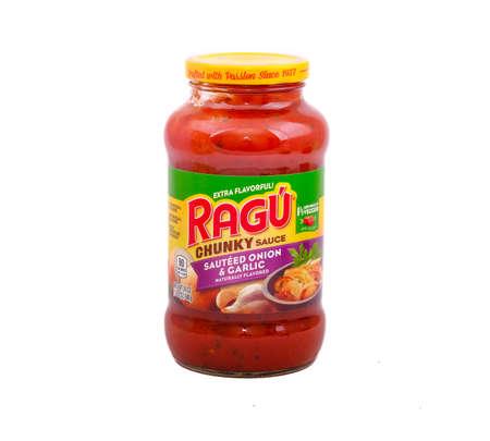 Ragu Chunky Sauce Stock fotó